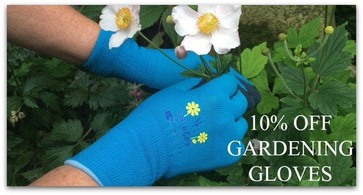 10% OFF GARDENING GLOVES