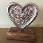 Aluminium Heart Decoration