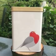 Bird Seed Tin - Brutus the Robin Tin