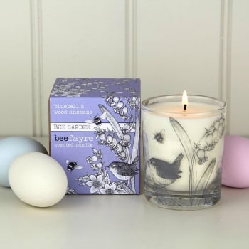 Bluebell & Wood Anemone Large Candle