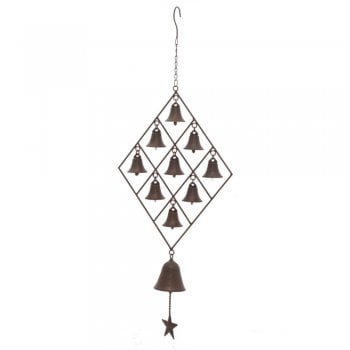 Cast Iron Bell Wind Chimes
