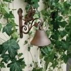 Cast Iron Butterfly Bell