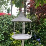 Cast Iron Parasol Bird Feeder