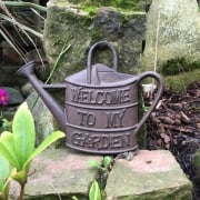 Cast Iron Watering Can Sign