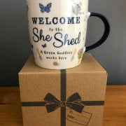 Ceramic She Shed Mug