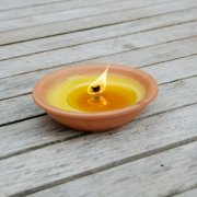 Citronella Candle in a Terracotta Bowl