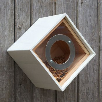 Contemporary Urban Style Bird Feeder