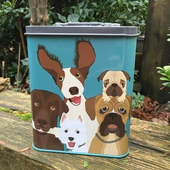 Dog Treat Tin