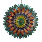 "Flower Mandala 12"" Wind Spinner"