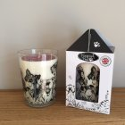 """Winter Walkies"" Cinnamon, Clove, Sweet Orange & Vanilla Fragranced Candle"