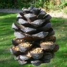Fully Weatherproof Large Pine Cone Bird Feeder