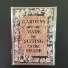 Garden Design Fridge Magnet
