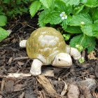 Green Tortoise Garden Ornament