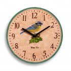 Hand Painted Blue Tit Clock