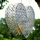 Hanging Heart Shaped Candle Holder