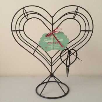 Heart Shaped Topiary Set