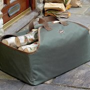 Heavy Duty Fabric Log Carrier