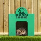 Hedgehog Crossing Sign
