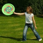 Jumbo Flying Disc with Soft Foam Rim