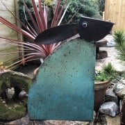 Large Metal Hare Garden Ornament