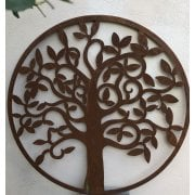 Metal Tree Plaque