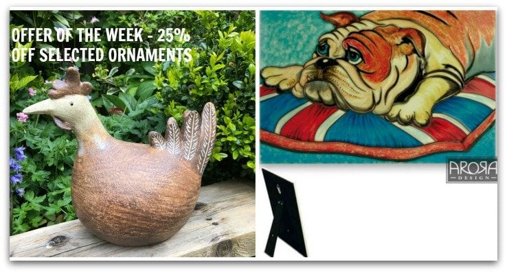 OFFER OF THE WEEK ORNAMENTS