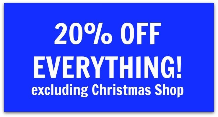 OFFER OF THE WEEK 20% OFF EVERYTHING
