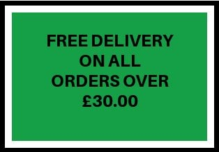 FREE DELIVERY OVER £30.00