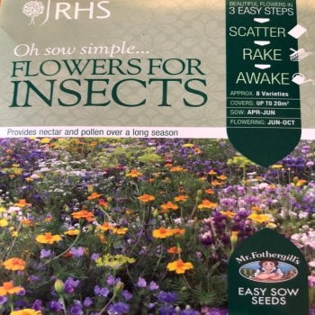 Mr. Fothergill's Seeds RHS Flowers for Insects Boxed Seeds