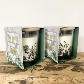 Potting Shed Gift Boxed Candle Pot