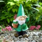 Potting Wilf Garden Gnome