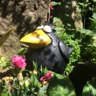 Quirky Crow Garden Ornament - Large