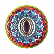 "Rainbow Mandala 12"" Wind Spinner"