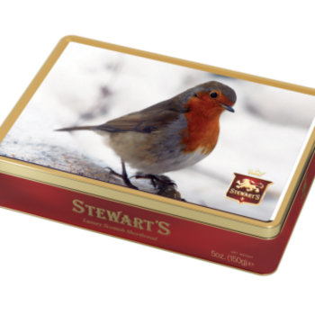 Robin Shortbread Tin(150g)