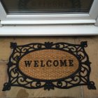 Rubber & Coir Welcome Doormat