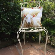 Sheep Design Outdoor Cushion