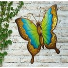 Small Butterfly Glass Wall Art