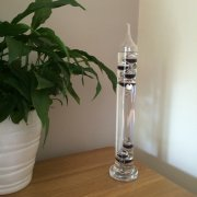 Small Size Galileo Thermometer for Indoor Use