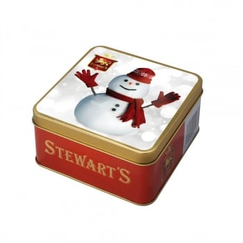Snowman Shortbread Tin (125g)