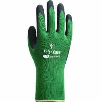 Soft n Care Landscape Green Gloves Large