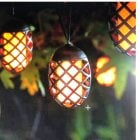 Solar Powered Flame String Lights