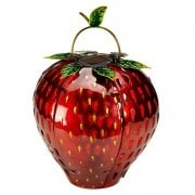 Solar Powered Strawberry Lantern