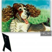 Springer Spaniel Ceramic Plaque