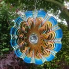 Sun Crystal Wind Spinner