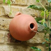 Terracotta Round Bird Pot