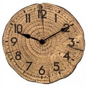 Tree Time Outdoor Wall Clock