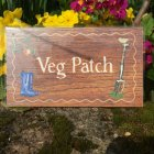 Veg Patch Decorative Plaque