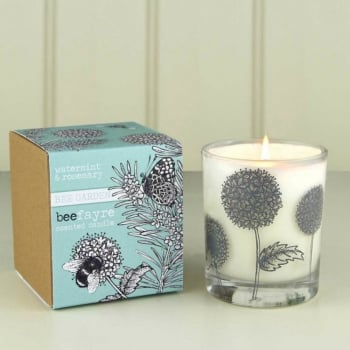 Watermint & Rosemary Fragranced Large Candle