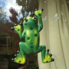 Weather Resistant Frog Window Thermometer