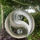 Yin Yang Crystal Wind Spinner
